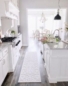 Stylish Farmhouse Kitchen Design Ideas To Bring Classic Look 32