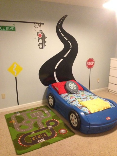 Astonishing Car Bed Designs Ideas That Every Kids Must See 11