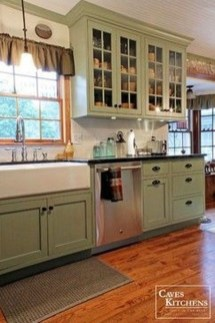 Classy Farmhouse Kitchen Cabinets Design Ideas To Copy 05