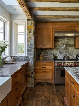Classy Farmhouse Kitchen Cabinets Design Ideas To Copy 07
