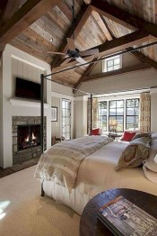 Trendy Farmhouse Master Bedroom Design Ideas 13
