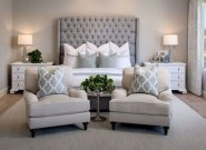 Trendy Farmhouse Master Bedroom Design Ideas 14