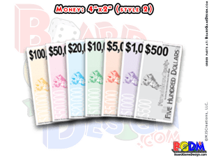 Monopoly Money, Replacement Play Money for Games
