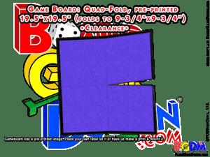 Game Board Blank 19.5 x 19.5 Quad-Fold