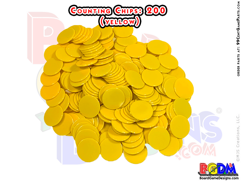 Counting Chips Yellow
