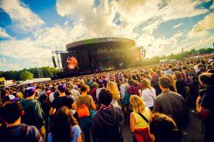 Affiche en timetable Rock Werchter 2017 compleet