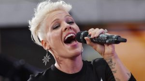 P!nk in Parijs