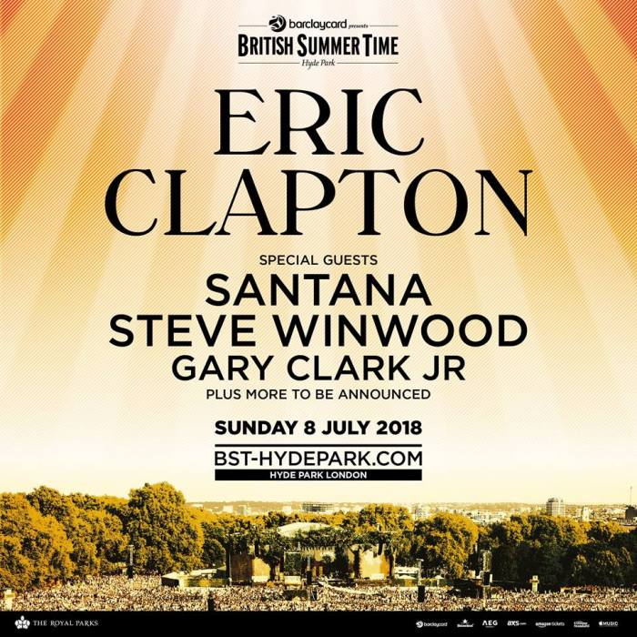 Eric Clapton British Summer Time 2018