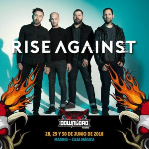 Rise Against zakt af naar Download Madrid