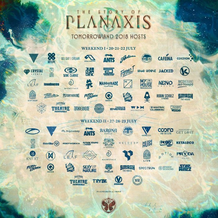 Tomorrowland 2018 maakt hosts bekend