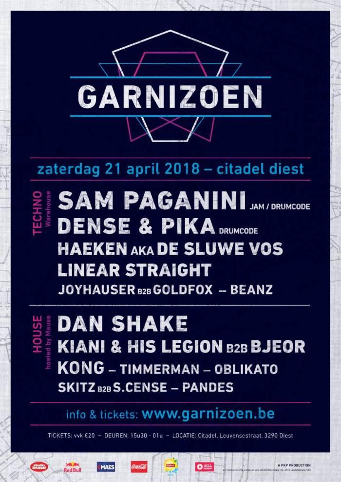 tickets voor Garnizoen 2018