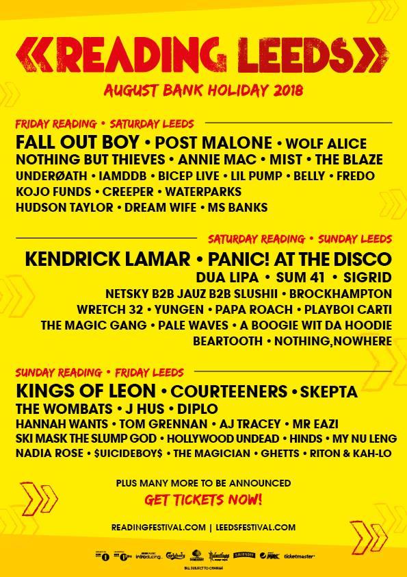 Reading & Leeds 2018