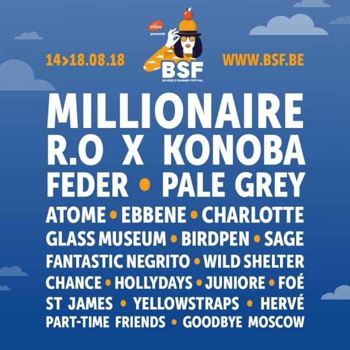 Programma Brussels Summer Festival 2018 compleet