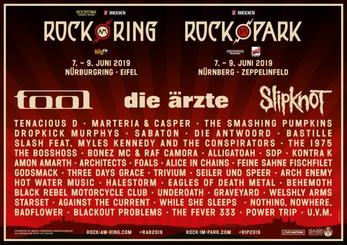 The Smashing Pumpkins en meer naar Rock am RingenRock im Park