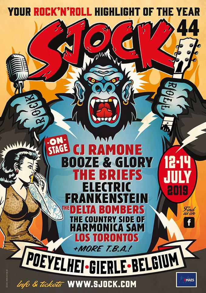 Eerste namen Sjock Festival 2019