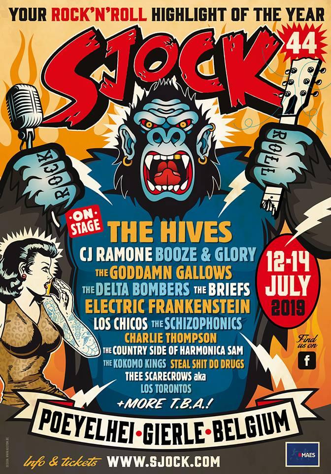 SJock Festival 2019 The Hives