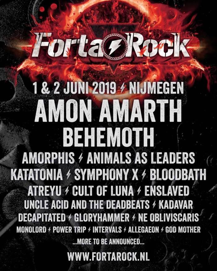 Fortarock 2019 haalt vijf nieuwe namen
