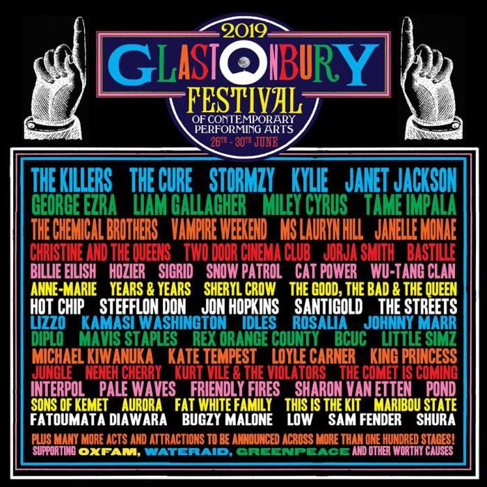 Glastonbury 2019 pakt stevig uit met niets dan topnamen
