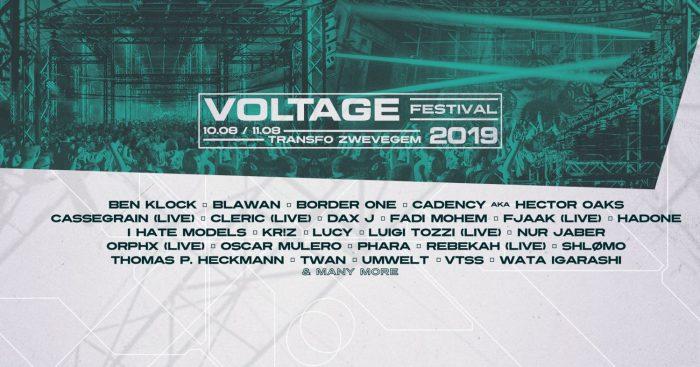 Voltage Festival 2019 maakt line-up 5e editie bekend