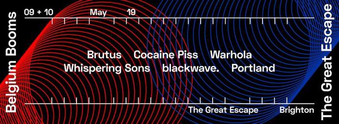Heel wat Belgische bands naar The Great Escape 2019