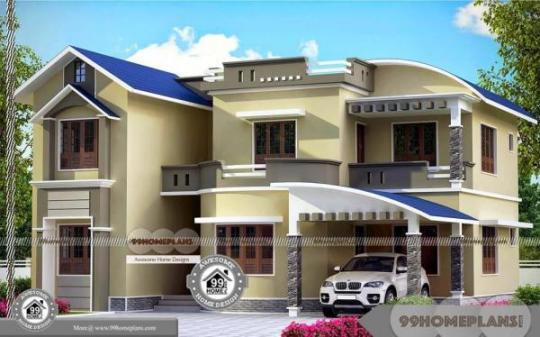 Design Your Own House Plans Free Two Story Modern Indian Style Design