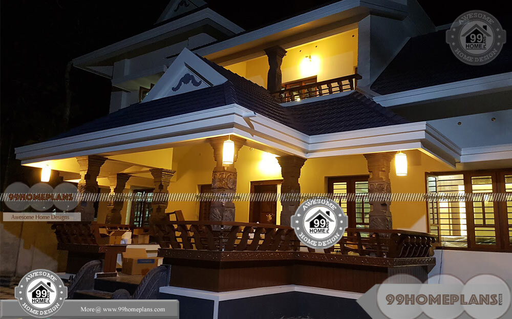 Nadumuttam House Plans Kerala Traditional Latest Model Old