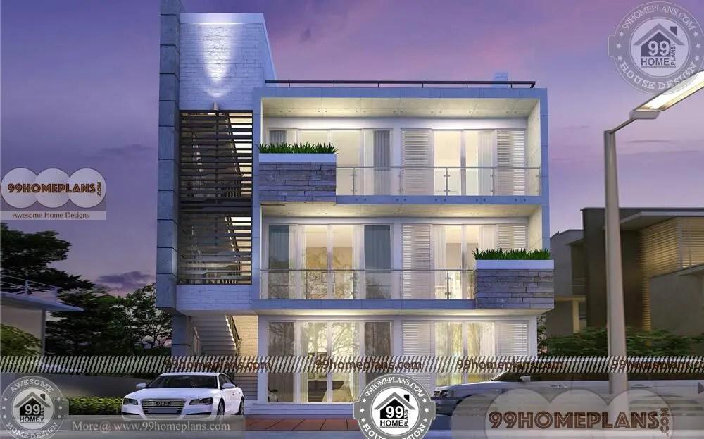 3 Storey Apartment Building Design 30 X 40 Narrow Block