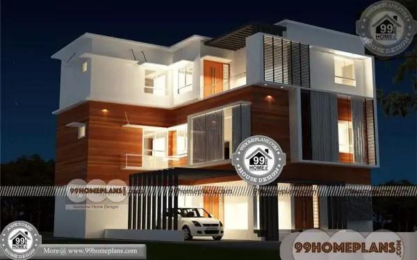 Narrow Apartment Design