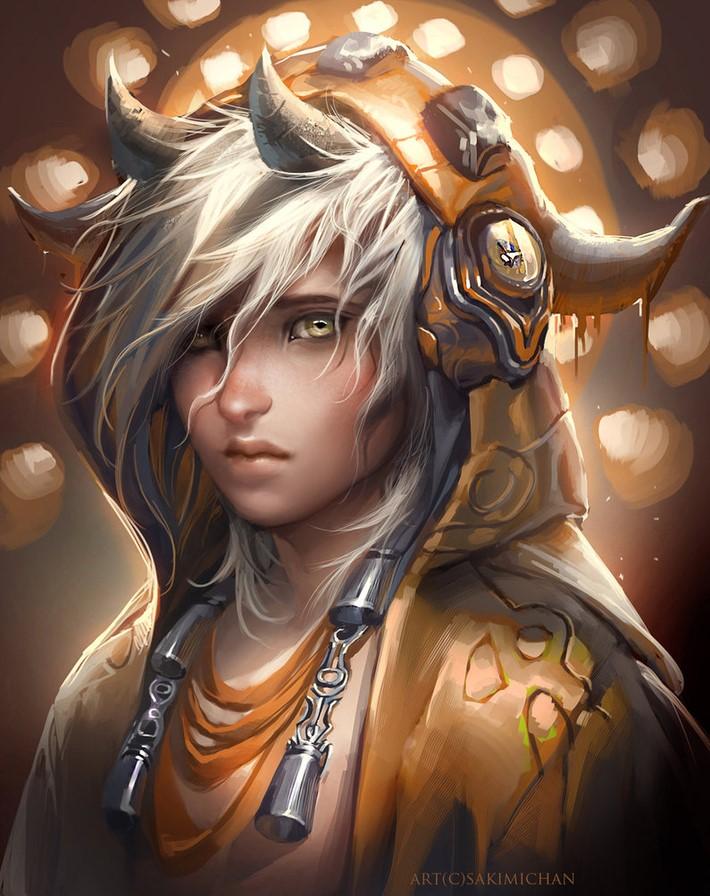 Amazing Digital Art Characters 12