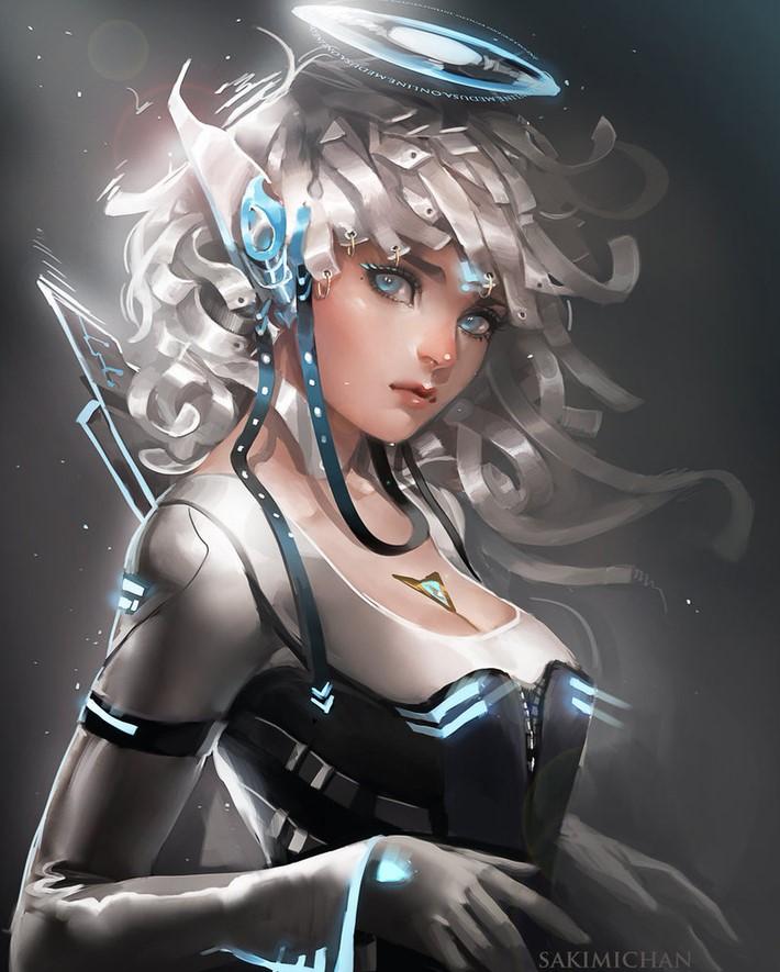 Amazing Digital Art Characters 17