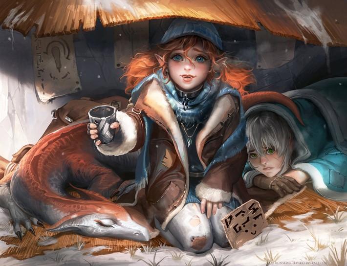 Amazing Digital Art Characters 4