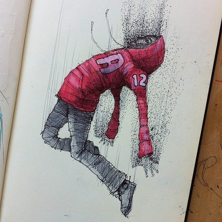 Amazing pencil art sketches 3