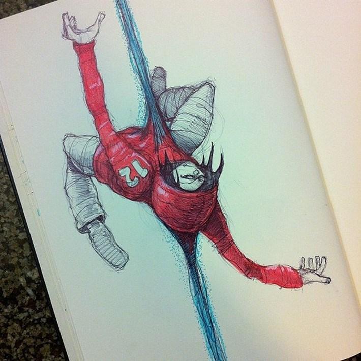 Amazing pencil art sketches 4