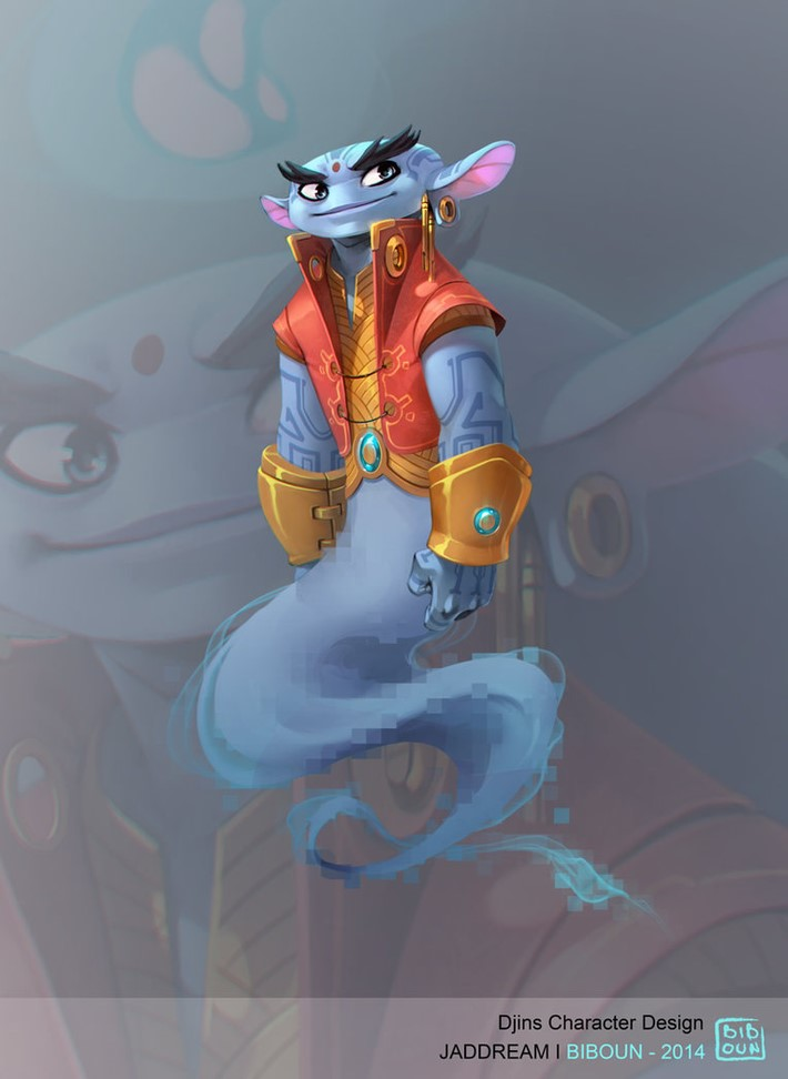 best character design illustration  2