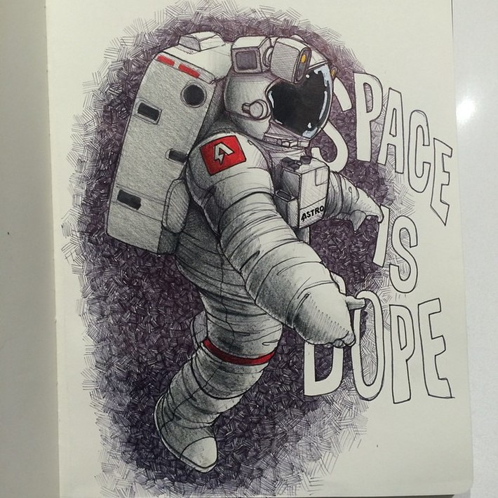 fantastic sketches drawings 2