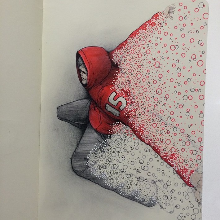 fantastic sketches drawings pencil 13