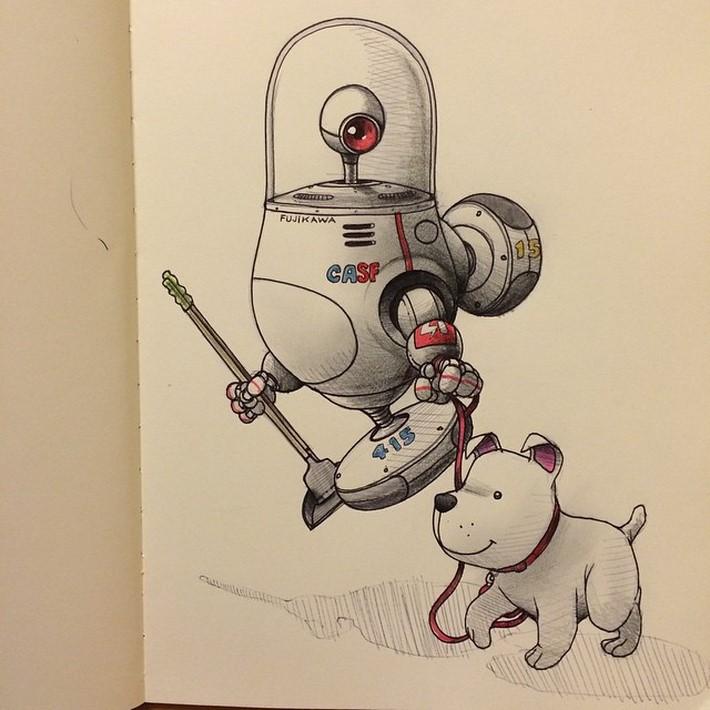 fantastic sketches drawings pencil 3