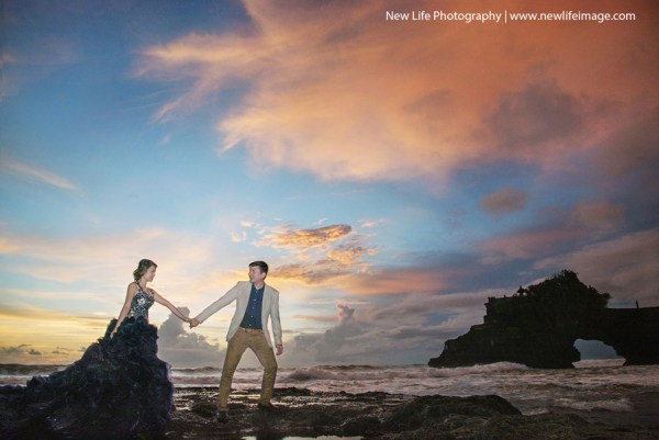 Beauty Place Of Prewedding TanahLot Bali 01