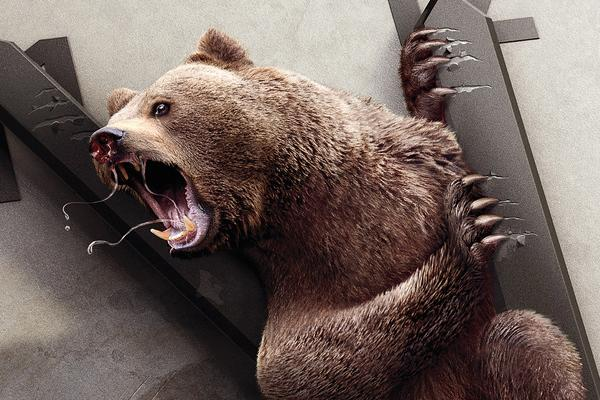 Creative 3D Graphic Design campaign of bear-by Peppermill