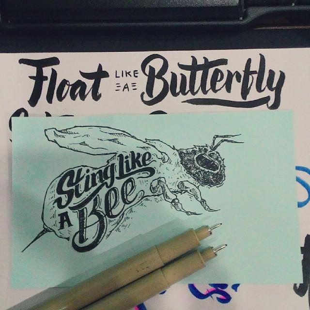Creative hand lettering art  design- Dimaz Fakhruddin