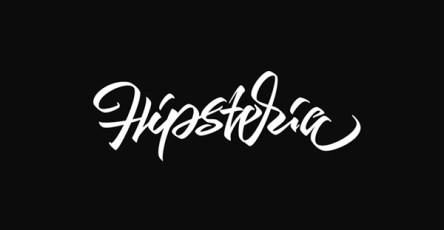 Simple Hand Lettering Font Design By Artimasa Studio