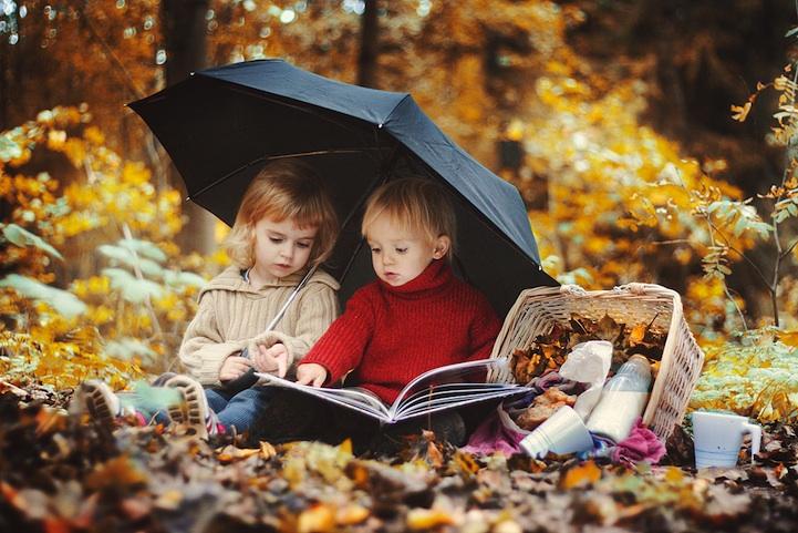 cute photo shoot idea for kids