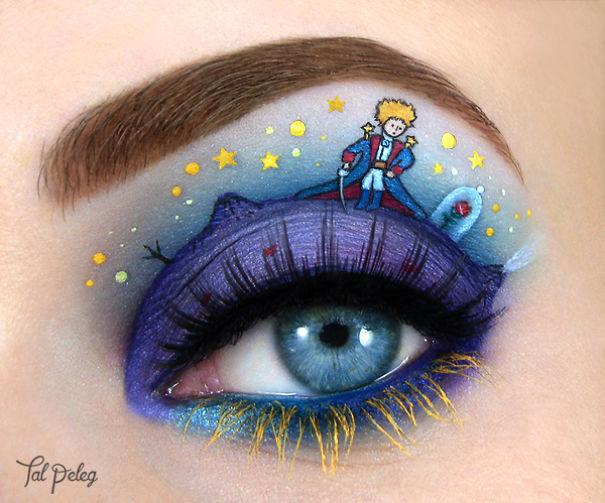 Unique eye art design by Tal Peleg