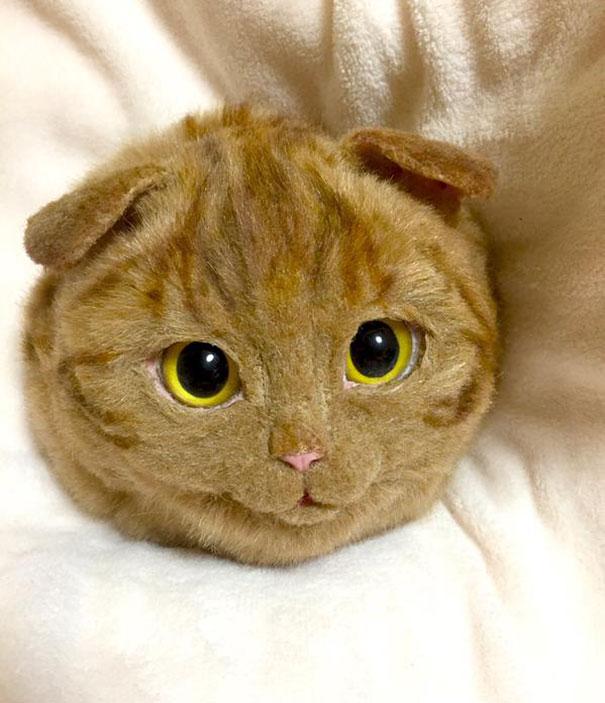 Creative Handmade realistic cat bags pico 09