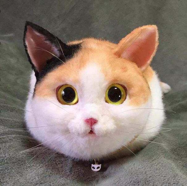 Handmade realistic cat bags pico 61