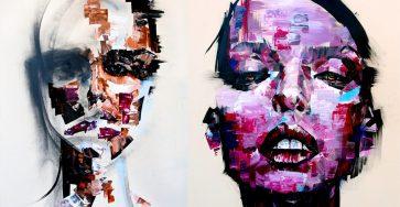 Creative Painting portrait Idea by Josept Lee