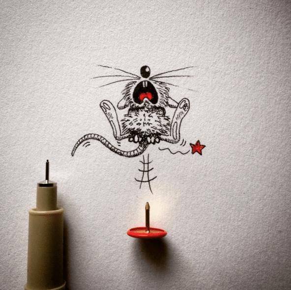Creative Funny Art Drawings
