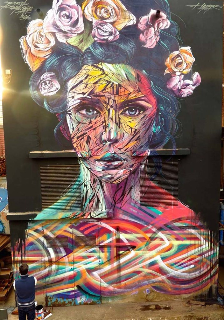 Creative Street Art and Graffiti Designs by Hopare