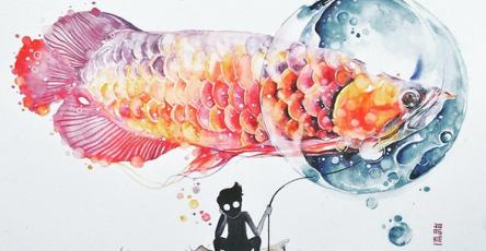 Gorgeous Watercolor Paintings by Luqman Reza Mulyono,