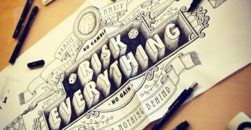Creative Hand Lettering Design by Tobias Hall